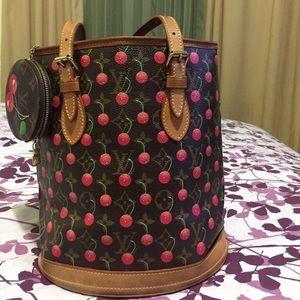 50b4158f0c2a Cherry Blossom Louis Vuitton Bag on Poshmark